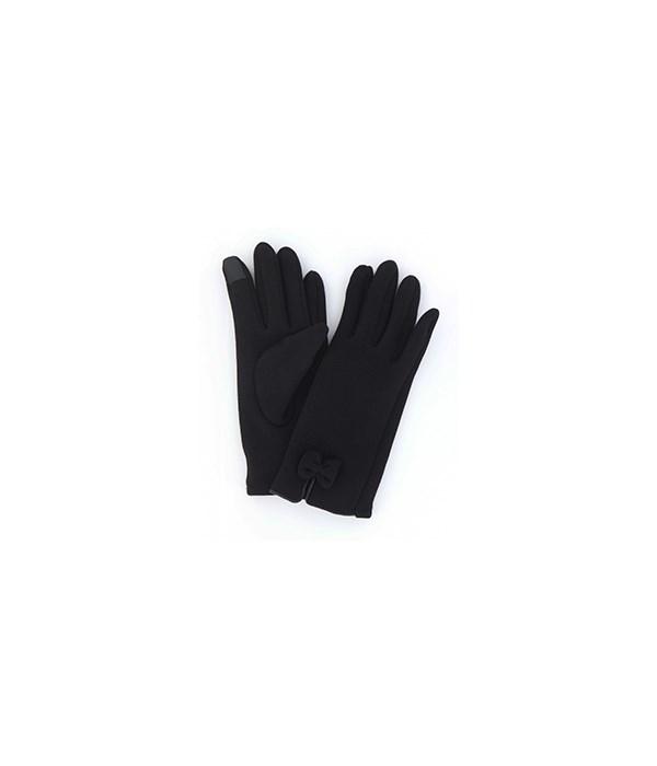 Modern Vintage Black Bow Fleece 4PC