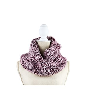 Pink Chalet Sherpa Inf Scarf 6PC