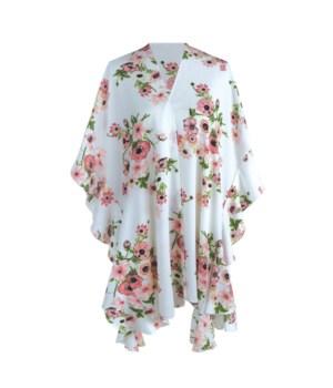 White Floral Kimono 2PC Refill