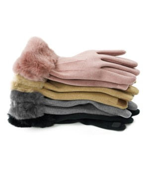 Socialite Fleece Gloves 24PC