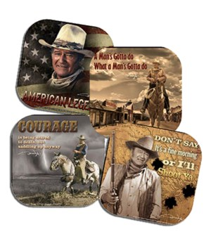 JOHN WAYNE COASTER SET