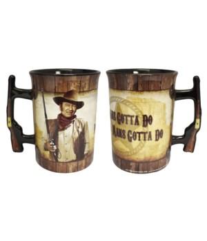 JOHN WAYNE MUG - SHERIFF #8