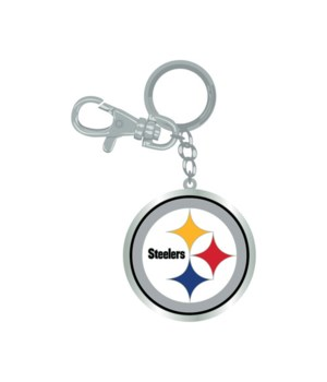 LOGO KEY CHAIN - PITT STEELERS