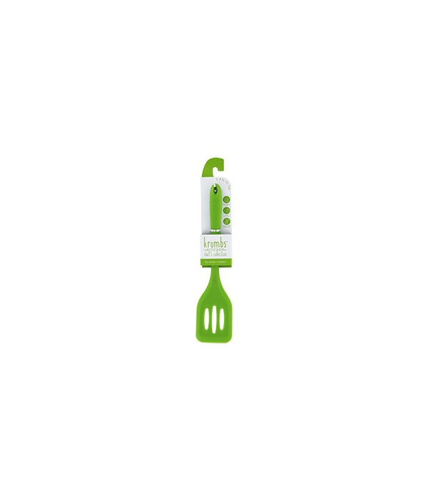 Green Silicone Turner 6PC