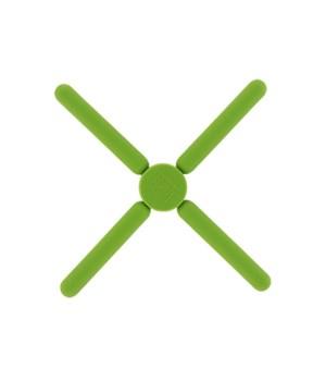 Green Silicone Folding Trivet 6PC