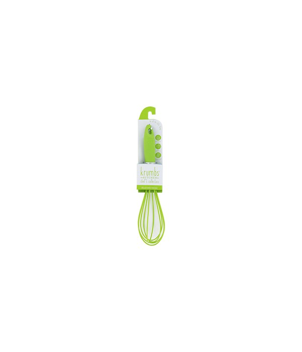 Green Silicone Wisk 6PC