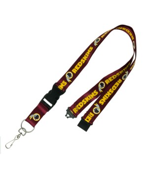 WASH REDSKINS LANYARD
