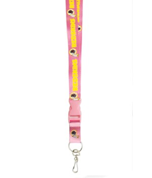 PINK LANYARD - WASH REDSKINS