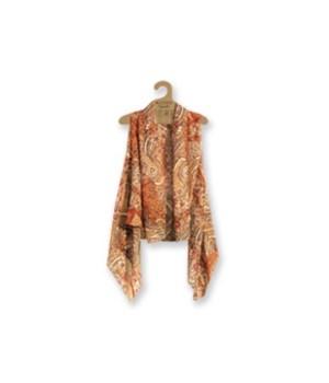 Sheer Vest: Brown-Orange-Mix 3PC Refill