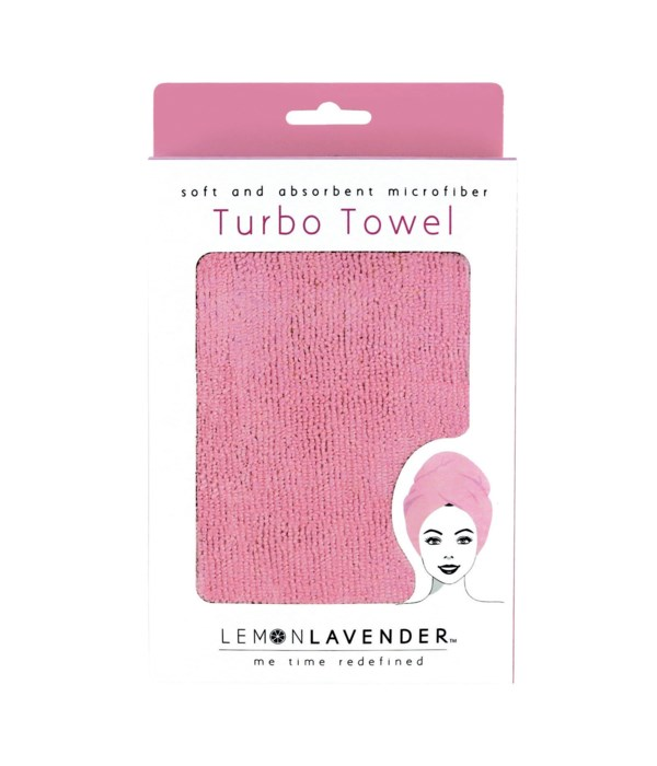 Pink Lemon Lavender� Turbo Towel 3PC