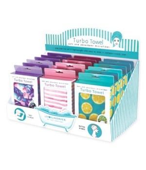Lemon Lavender™ Turbo Towel 18PC
