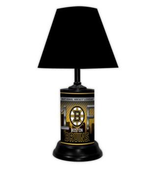 BOSTON BRUINS LAMP-BLK