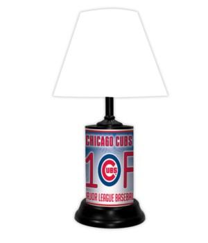 CHI CUBS LAMP-WT