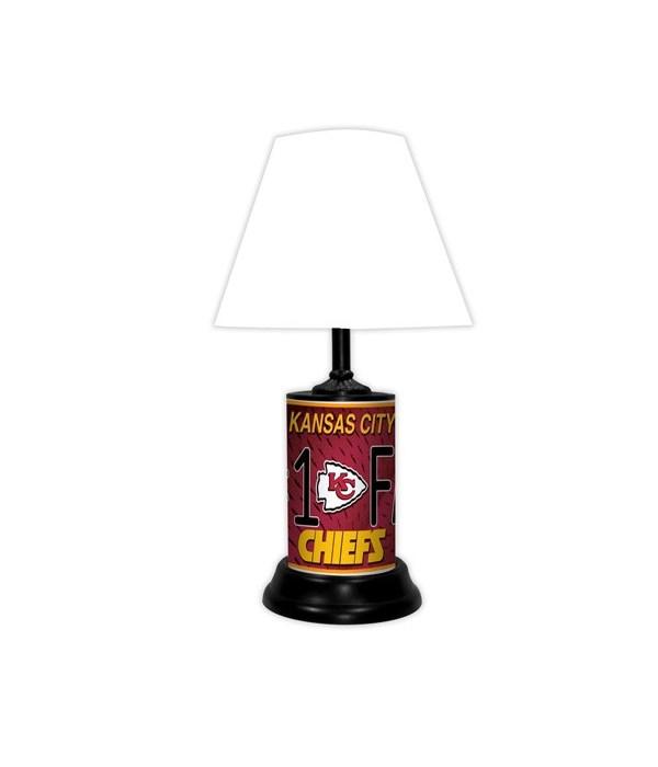 Kansas City Chiefs Lamp