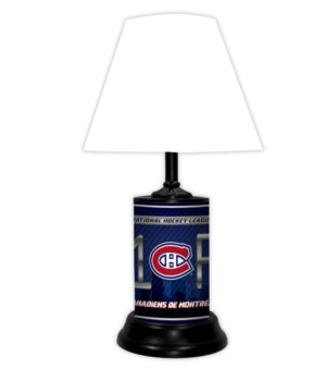 MONTREAL CANADIANS LAMP WT