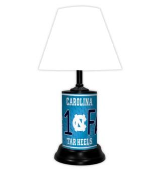 NC TARHEELS LAMP-WT