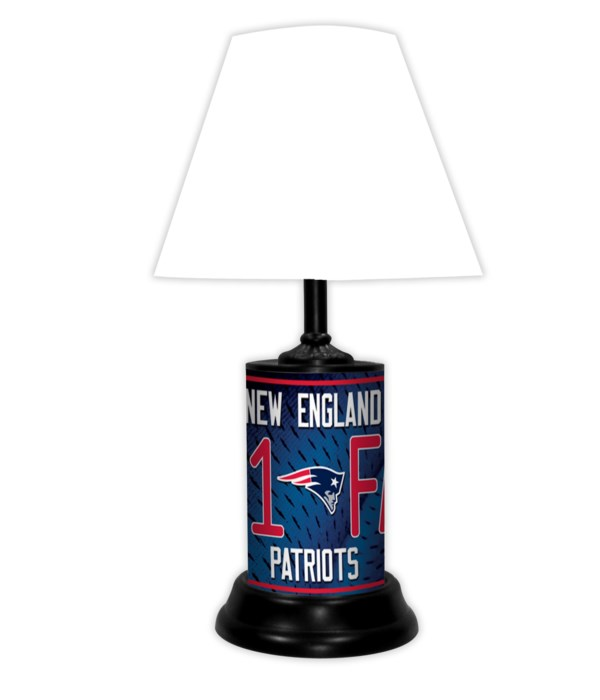 NE PATRIOTS LAMP-WT