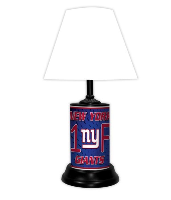 NEW YORK GIANTS LAMP-WT