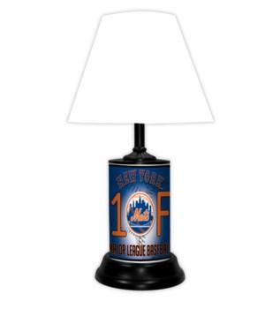 NY METS LAMP-WT
