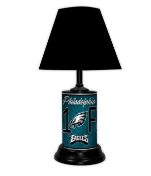 PHIL EAGLES LAMP-BK