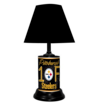 PITT STEELERS LAMP-BK