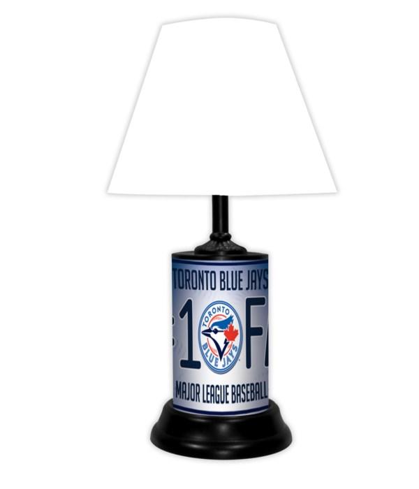 TOR BLUE JAYS LAMP WT