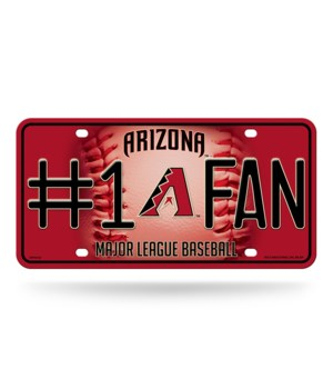 AZ DIAMONDBACK LICENSE PLATE