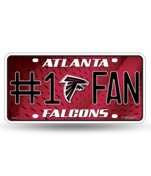ATL FALCONS LICENSE PLATE