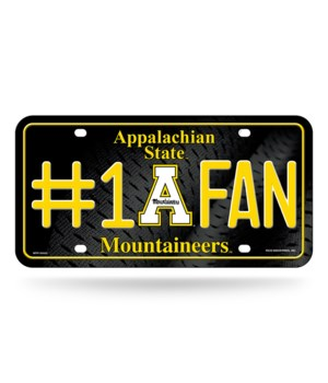 APALACHIAN STATE LICENSE PLATE