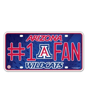 AZ WILDCATS LICENSE PLATE