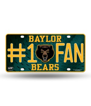 BAYLOR BEARS LICENSE PLATE