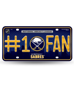 BUFF SABRES LICENSE PLATE