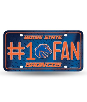 BOISE STATE LICENSE PLATE