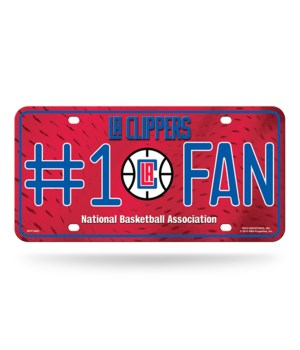 LA CLIPPERS LICENSE PLATE