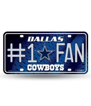 DAL COWBOYS LICENSE PLATE