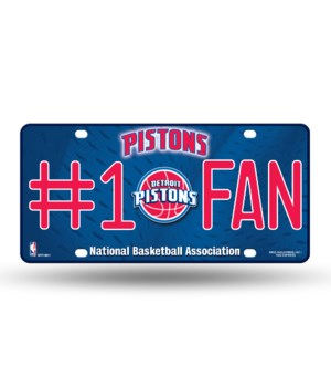 DET PISTONS LICENSE PLATE..