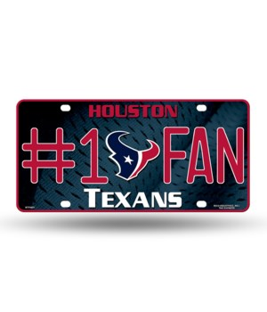 HOU TEXANS LICENSE PLATE