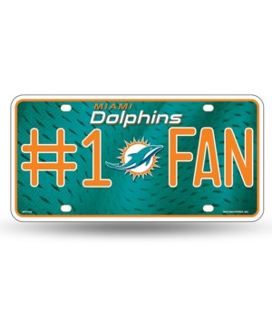 MIA DOLPHINS LICENSE PLATE