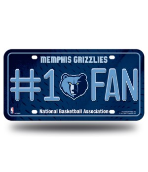MEMPHIS GRIZZLIES LICENSE PLATE