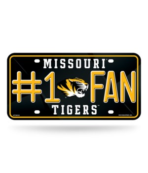 MO TIGERS LICENSE PLATE