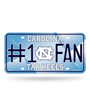 NC TARHEELS LICENSE PLATE