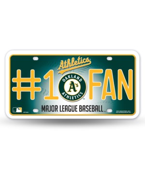 OAKLAND A'S LICENSE PLATE