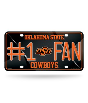 OK STCOWBOYS LICENSE PLATE