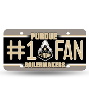 PURDUE LICENSE PLATE