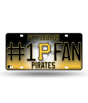 PITT PIRATES LICENSE PLATE