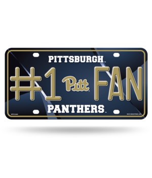 PITT PANTHERS LICENSE PLATE