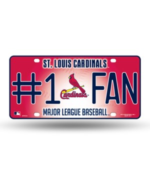 SL CARDINALS LICENSE PLATE