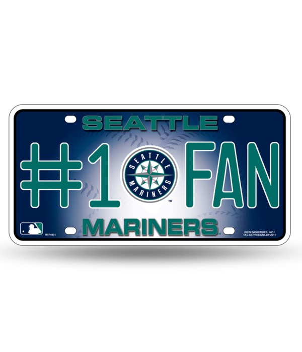 SEATTLE MARINERS LICENSE PLATE