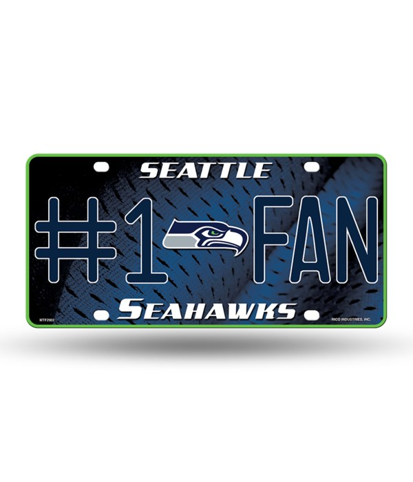S SEAHAWKS LICENSE PLATE
