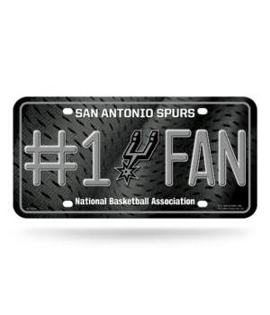 SPURS LICENSE PLATE